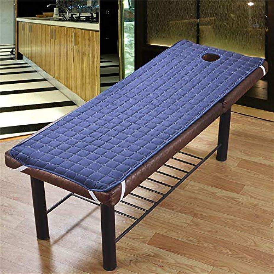 敬意トラブルずんぐりしたTenflyer 美容院のマッサージ療法のベッドのための滑り止めのSoliod色の長方形のマットレス