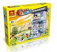 [ Wang ] Wange City Inn建物ブロック480個セットおもちゃGreatギフト最適[ Parallel import goods ]