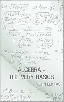 Algebra - The Very Basics by [Bektas, Metin]