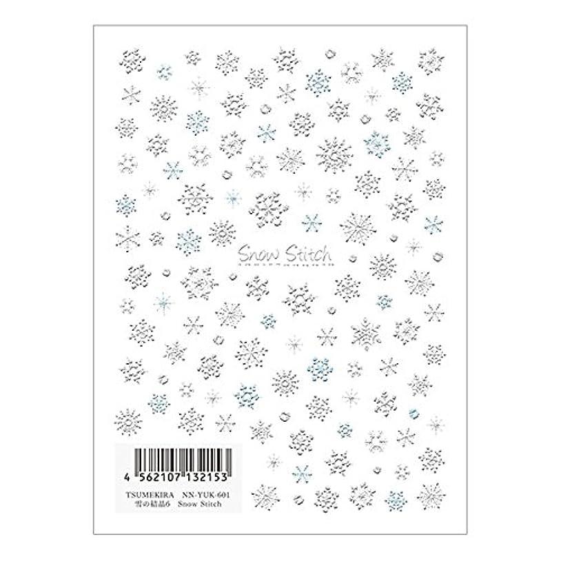 薬理学ダルセットフェミニンTSUMEKIRA ネイルシール雪の結晶6 NN-YUK-601