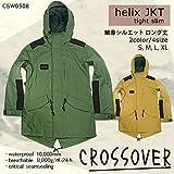 スノーボード ウェア メンズ レディース ジャケット 上 crossover クロスオーバー helix jacket CSW0508 BEG XL 15-16 無地