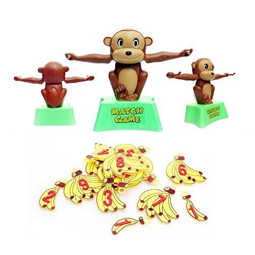 Wishtime 人気のすうじてんびん 数あそび バランスゲーム 子ども 幼児 数のお勉強 知育 おもちゃ