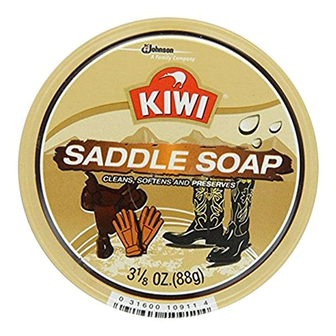 乳剤予測養うKiwi サドルソープ3.125オズ(7パック) 7のパック