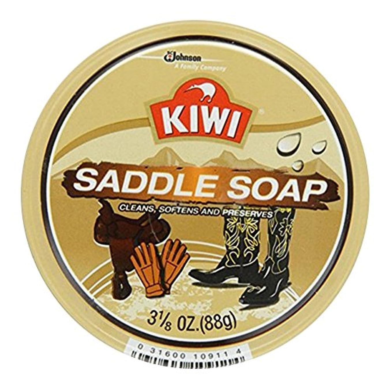 菊パス扱いやすいKiwi サドルソープ3.125オズ(7パック) 7のパック
