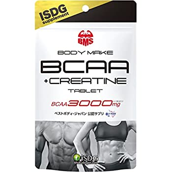 ISDG 医食同源ドットコム BCAA+クレアチン タブレット [BCAA 3000mg] クランベリーカシス味 180粒 約30日分