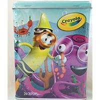 Crayola想像力Tinクレヨン – Sea ( W / 24 ctクレヨン)