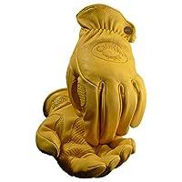Caiman カイマン Gold Sheep Grain ゴールド シープ グレイン(羊革) ドライバー / ワーク グローブ (XL)