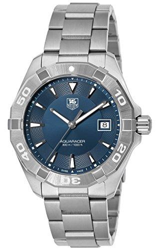 [タグ・ホイヤー]TAG Heuer 腕時計 Aquaracer ブルー文字盤 WAY1112.BA0928 メンズ 【並行輸入品】