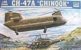 トランペッター 1/35 CH-47A チヌーク 大型輸送ヘリコプター プラモデル