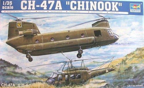 1/35 CH-47A チヌーク 大型輸送ヘリコプター 05104 [おもちゃ&ホビー]