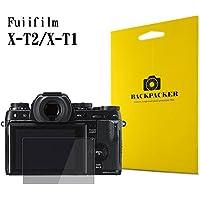 【BACKPACKER】 カメラ液晶保護ガラス 液晶プロテクター 0.33mm強化ガラス 9H硬度 高鮮明 (FUJIFILM X-T2 / X-T1用)