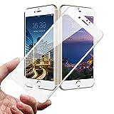 Amazon.co.jpSimpeak iPhone 7 対応 全面保護フィルム 衝撃防止/タッチ敏感フルカバーフィルム【ホワイト】【1枚】
