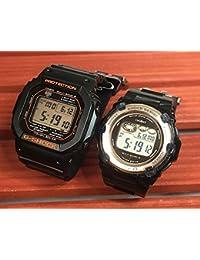 カシオCASIO 腕時計 G-SHOCK&BABY-G ペアウォッチ 純正ペアケース入り ジーショック&ベビージー 2本セット デジタル 電波ソーラー同士のペアウオッチ GW-M5610R-1JF BGR-3003-1JF