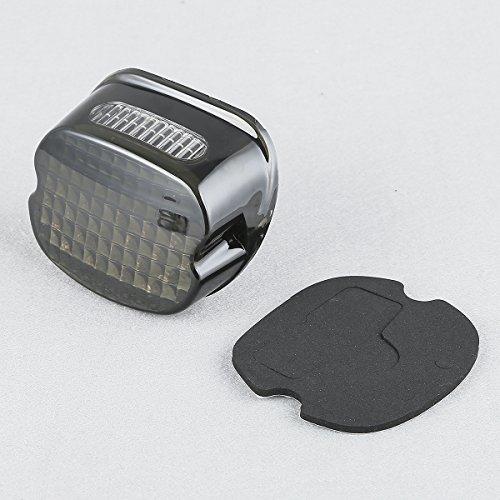 HUILI-JPHOME LED スモーク バック ライセン...