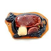 グルメバッジ ステーキセットA WP-9005食品サンプル サンプル屋さん本気の逸品
