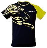 DONIC(ドニック) ライオンシャツ (男女兼用) GL079 ブラック×イエロー