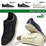 [プーマ] PUMA メンズスニーカー レディース コート スター CITI 361048 レザースニーカー 天然皮革 COURT STAR CITI
