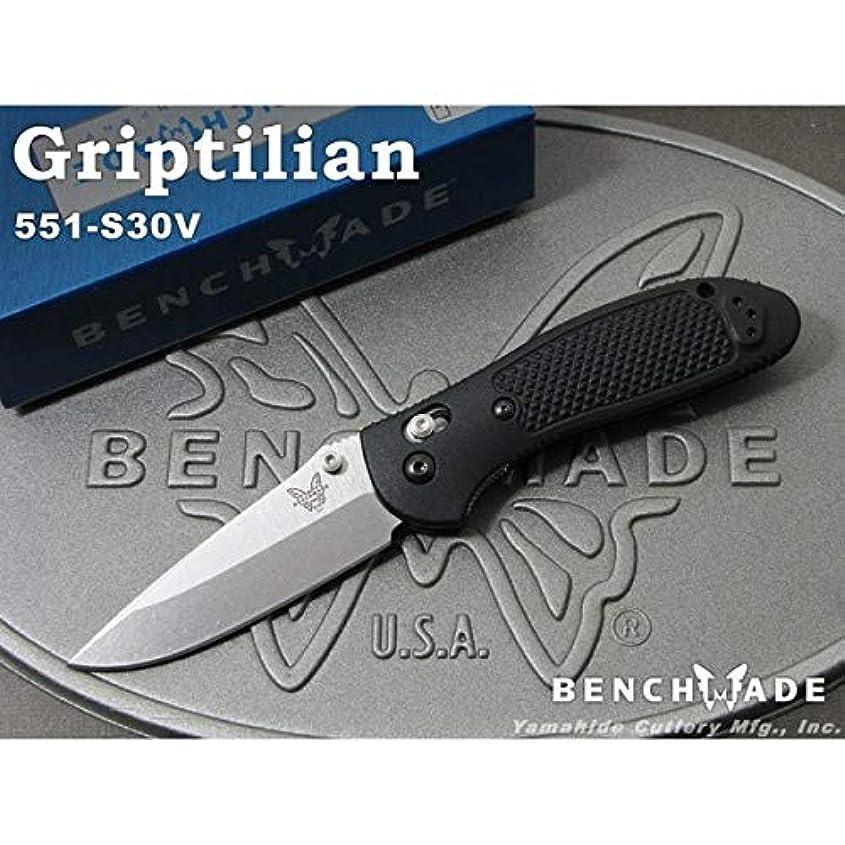ミル尊厳アルコールベンチメイド グリップティリアン シルバー直刃,折り畳みナイフ