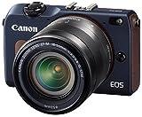 Canon EOS M2 イオス M2 EF-M18-55 IS STM レンズキット ベイブルーの画像