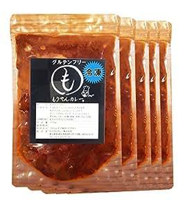 (もうやんカレー) 冷凍 もうやんカレー 5食セット(ビーフ×2 ・ チーズ×2 ・ ドライ×1)