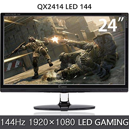 QNIX 24型 144Hz LED液晶ディスプレイ/ゲーミン...