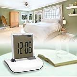 Kicode アラームクロック タイマー 温度計 デジタル卓上時計 バッテリー駆動 多機能 ガイド付き