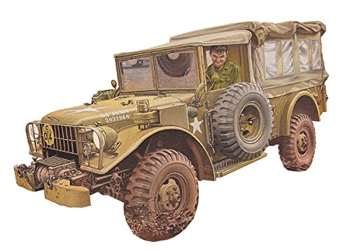 ローデン 1/35 アメリカ軍 ダッジM42コマンドトラック 四輪駆動 1950-1960年 プラモデル 035T809