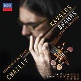 Brahms: Violin Concerto; Hungarian Dances; Bartok: Rhapsodies by Leonidas Kavakos (2013-11-12) 画像