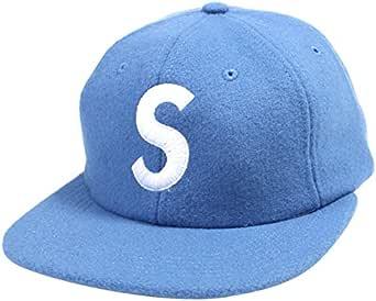 SUPREME シュプリーム 15AW Wool S Logo 6-Panel ウールキャップ 水色 並行輸入品 フリー