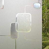 YETUGE-X 静電窓ガラスフィルム ステンド窓ガラスフィルム 無接着剤静電 遮熱 断熱 遮光 オフィス向け装飾再利用可能 窓用 フィルム 目隠しシート 会議室