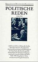 Politische Reden 4. 1945 - 1990: Band IV: 1945-1990