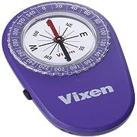 Vixen コンパス オイル式コンパス LEDコンパス パープル 43025-3
