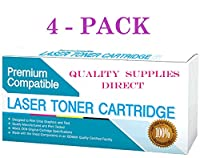 QSD Compatible Toner Replacement for Konica-Minolta A0FP012, Works with: PagePro 5650EN (Black)(Free 1 to 2 Day DELIVERY)(4-Pack)