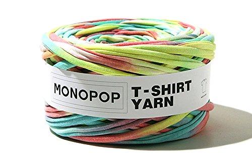 MONOPOP T-SHIRT YARN Tシャツヤーン ヒッピーレインボー 250g 160720-1
