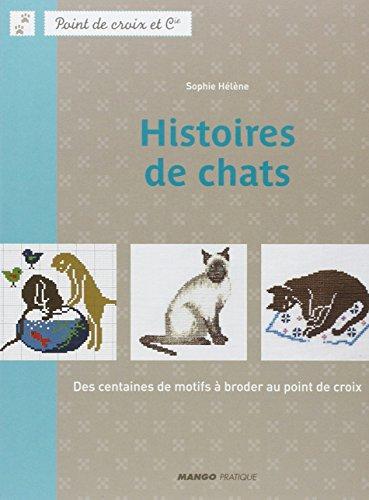 MANGO 「HISTOIRES DE CHATS」 クロスステッチ図案集-フランス語