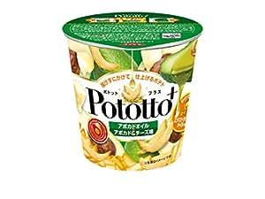 湖池屋 Pototto+ アボカドオイル×アボカド&チーズ味 27g×12袋