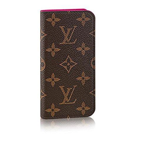 LOUIS VUITTON  ルイヴィトン フォリオ モノグラム iPhone7 ケース カバー ピンク ローズ M61906