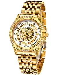 0782c7ea08 Amazon.co.jp: 夜光インデックス と サファイアガラス - 機械式腕時計 ...