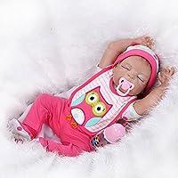 NPK 2016新しいSleepingフルシリコンビニールReal Looking Rebornベビー人形Lifelike新生児女の子人形55 cm / 22