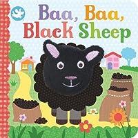 Little Learners Baa, Baa, Black Sheep Finger Puppet Book