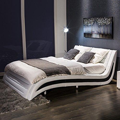 innovationlife 独創的な曲線デザイン キングサイズベッド