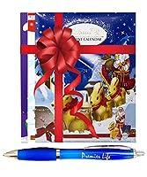 Chocolate Advent Calendar - 3 Pack - Lindt - Milky Bar - Cadburys Dairy Milk - Christmas Countdown Gift