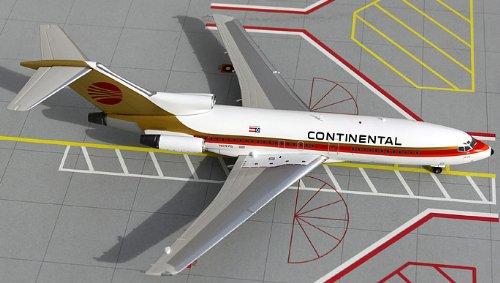 1: 200 ジェミニジェット Continental Micronesia ボーイング 727-100 Red Meatball Colors (並行輸入)