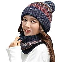 VOCHIC Winter Scarf Hars for Women Snowcaps Warm Ski Snow Hat Scarf Set