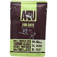 AATU アートゥー キャット ダック&チキン・レバー 85g (キャットフード ウェット 猫用総合栄養食) 全猫種成猫