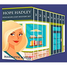 Hope Hadley Nine Book Cozy Mystery Set