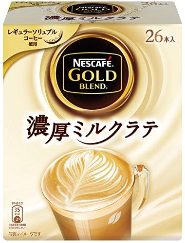 ネスカフェ ゴールドブレンド 濃厚ミルクラテ (9gx26p) 234g