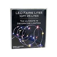 Kurt Adler電池式マルチカラーLED Fairie文字列ライト