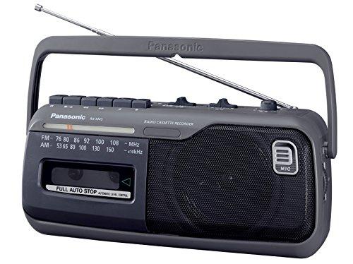 パナソニック ラジオカセットレコーダー (グレー) RX-M45-H 1台