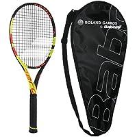 バボラ2018Pure Aero Decima Tennis Racquet–Strung with Cover–French Open Commerative